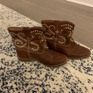 Isabel Marant Caleen Studded Booties 39